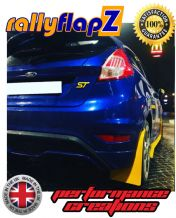 FIESTA ST180 (2008+) All Mk7 Models Inc Zetec S  YELLOW MUDFLAPS